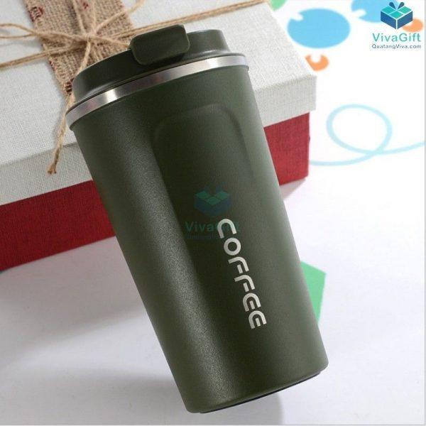 Ly Giữ Nhiệt Cafe Nắp Bật 500ml Q105