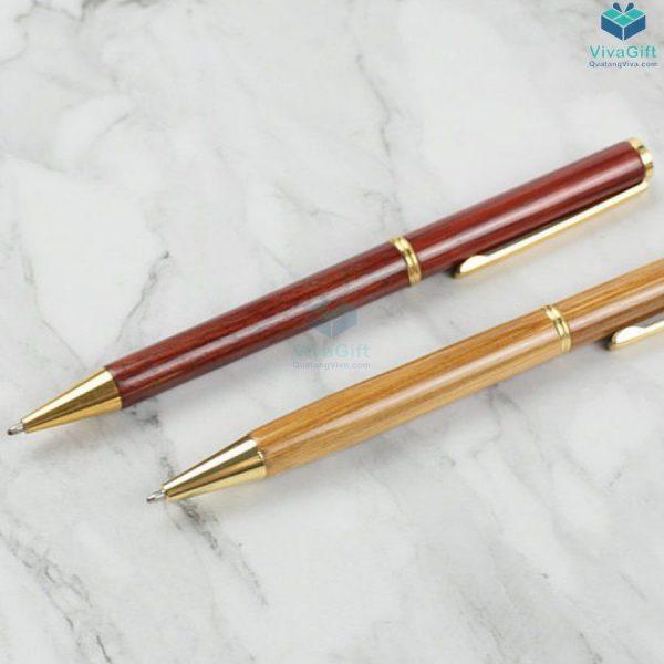 Bút gỗ khắc tên theo yêu cầu V012