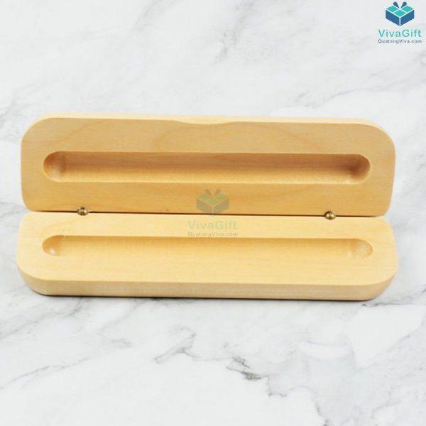 Hộp bút gỗ quà tặng HV01 làm quà tặng