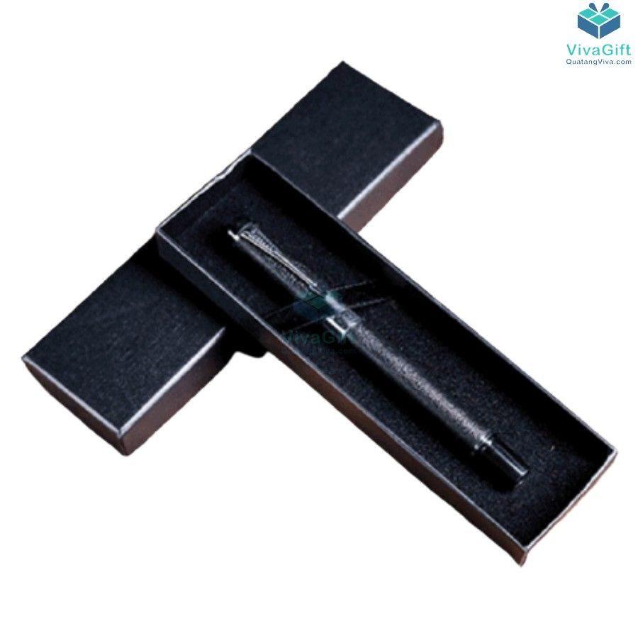 hộp bút quà tặng HV02 in tên theo yêu cầu