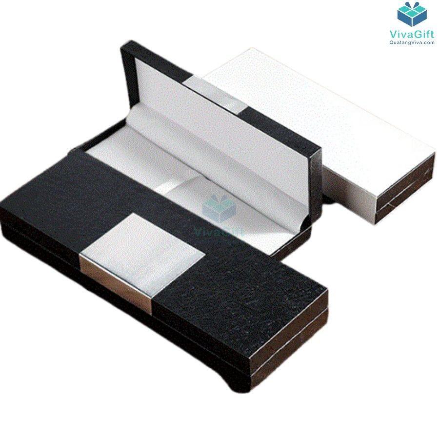 hộp bút quà tặng HV04 in logotheo yêu cầu