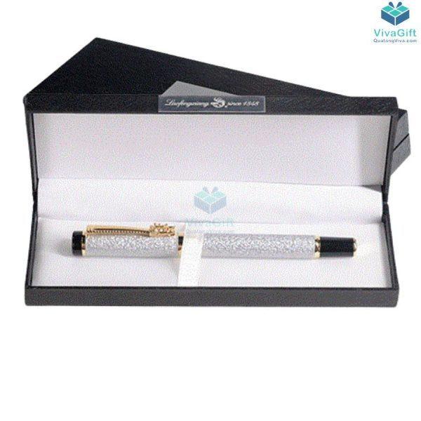 hộp bút quà tặng HV04 in logo làm quà tặng