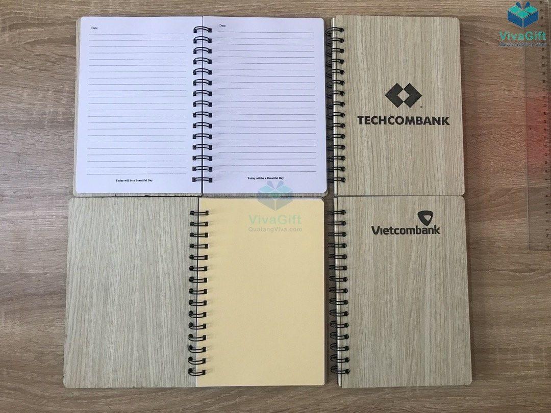 Sổ tay bìa gỗ thiết kế theo yêu cầu