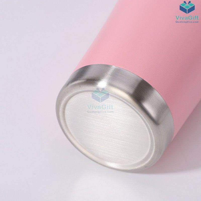 Ly giữ nhiệt cao cấp 900ml Inox 304 Q106 khắc tên làm quà tặng