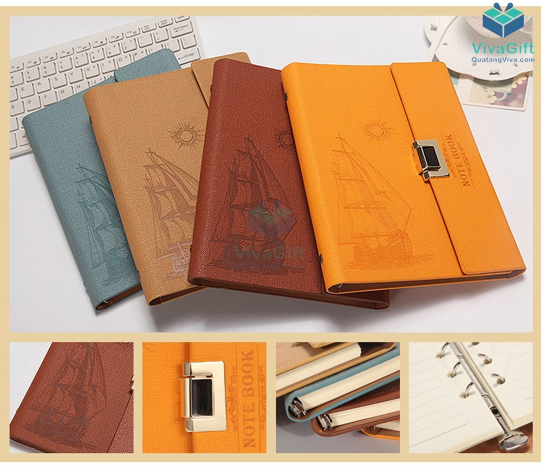 Sổ tay bìa còng B024 thiết kế theo yêu cầu