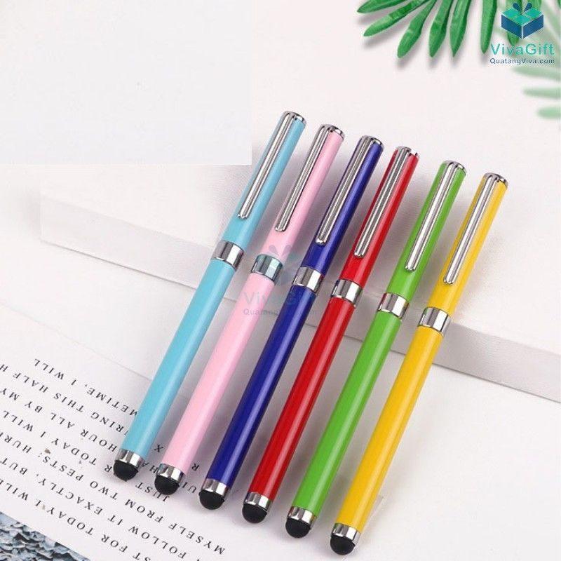 Bút cảm ứng điện dung 2 trong 1 V025 thiết kế làm quà tặng