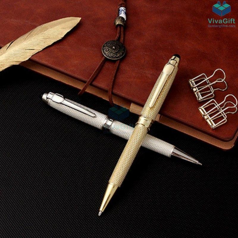 bút kim loại cao cấp v019 khắc tên theo yêu cầu