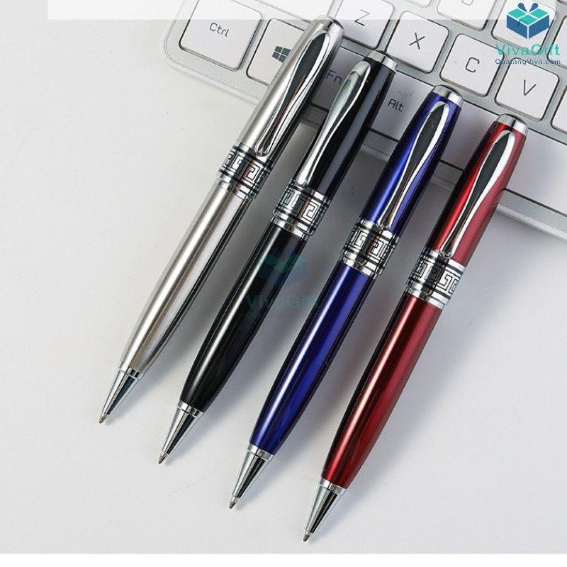 bút bi v022 khắc theo yêu cầu làm quà tặng