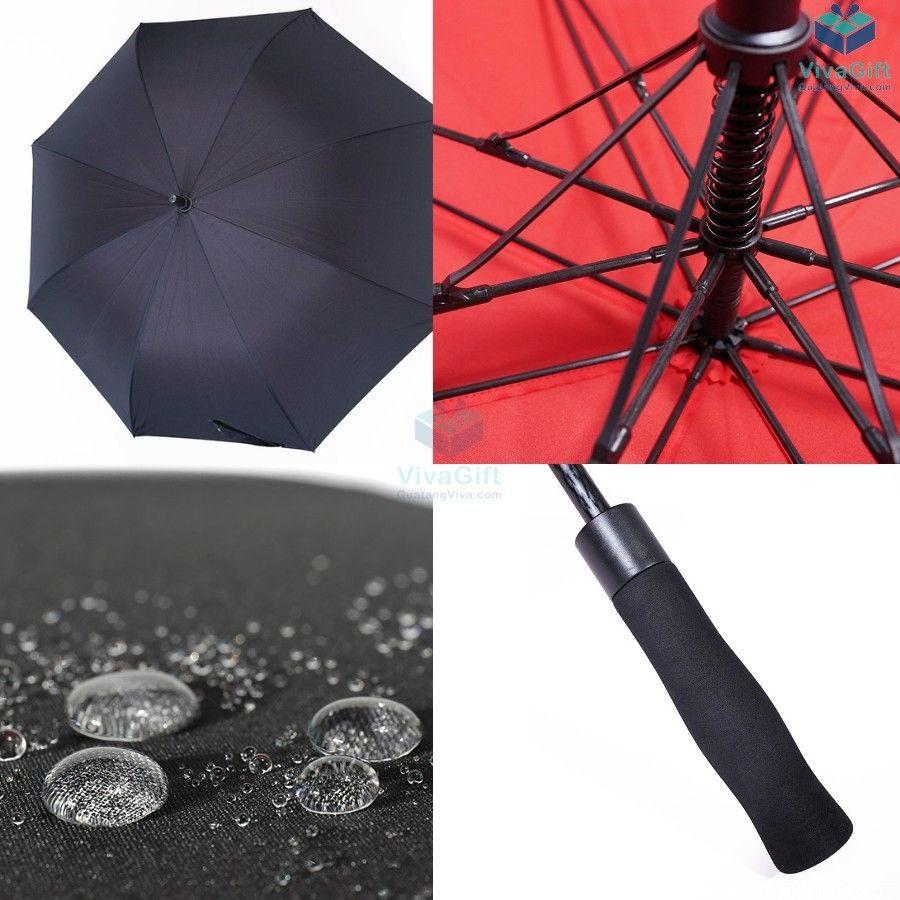 ô dù cầm tay cán dài D014 quà tặng in logo