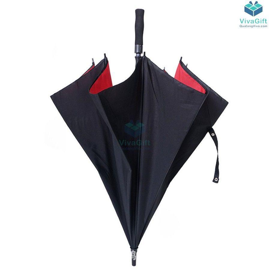 ô dù cầm tay cán dài D014 in logo theo yêu cầu