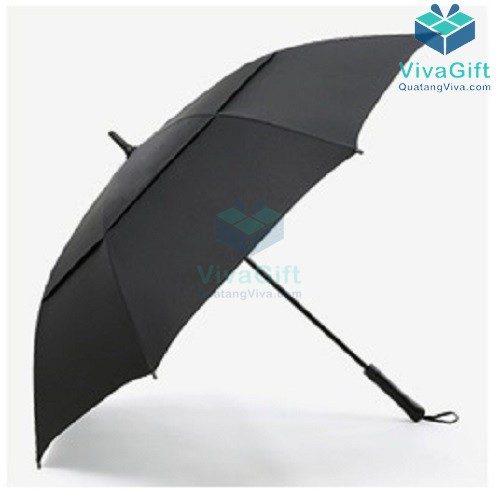 ô dù cầm tay cán thẳng 2 tầng in logo quà tặng doanh nghiệp