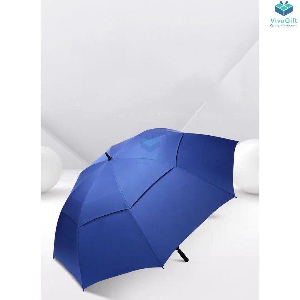 ô dù cầm tay cán thẳng 2 tầng in logo