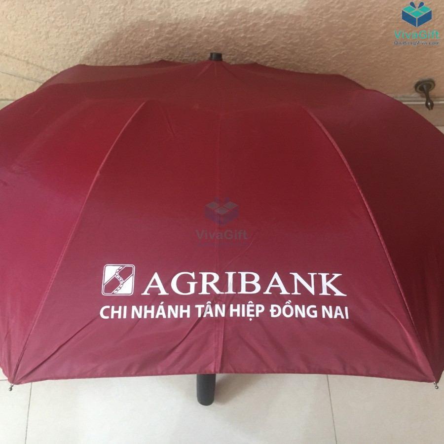 ô dù cầm tay gấp 2 tự động 1 chiều D019 in logo theo yêu cầu
