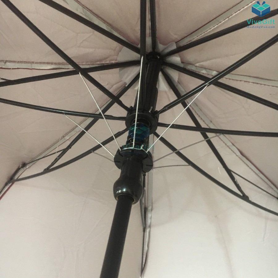 ô dù cầm tay gấp 2 tự động 1 chiều D019 in logo