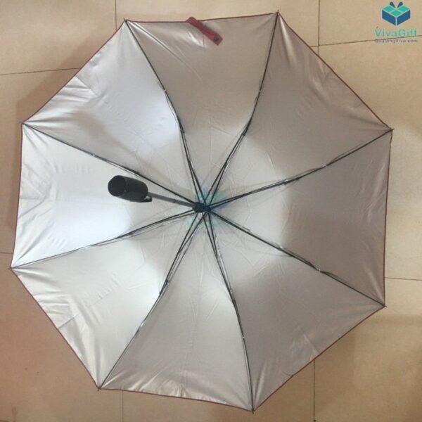 ô dù cầm tay gấp 2 tự động 1 chiều D019 quà tặng doanh nghiệp