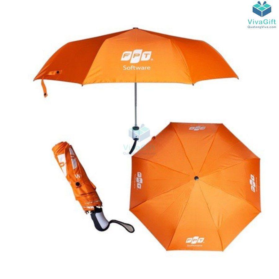 ô dù cầm tay gấp 3 d021 bán kính 55cm