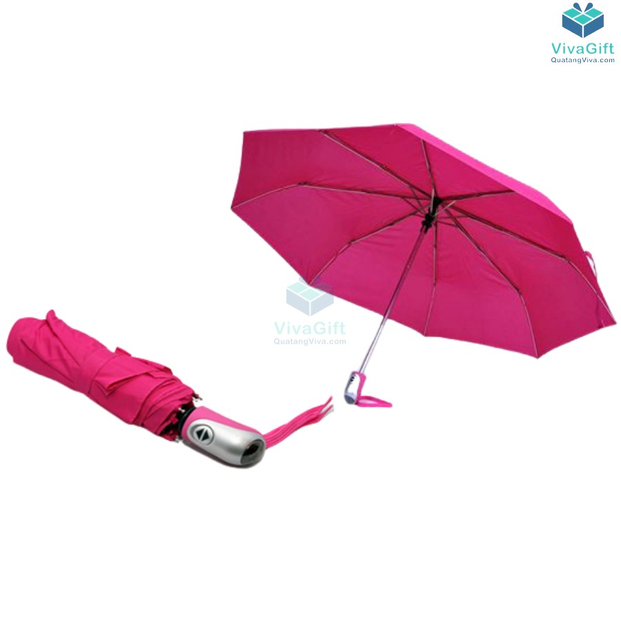 ô dù cầm tay gấp 3 tự động 2 chiều 8 kèo d024