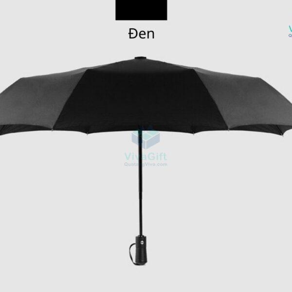 ô dù cầm tay gấp 3 tự động 2 chiều d012 in logo theo yêu cầu