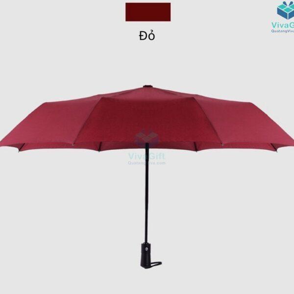 ô dù cầm tay xếp 3 tự động 2 chiều d012 in logo doanh nghiệp