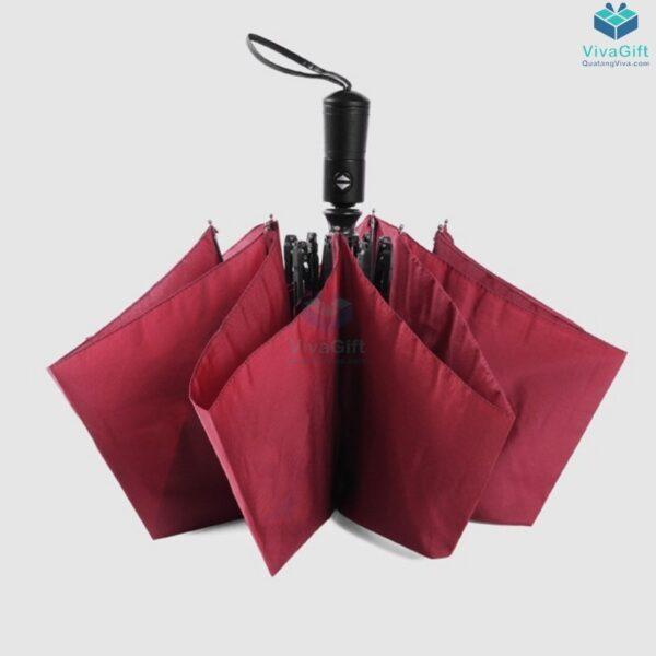 ô dù cầm tay gấp 3 tự động 2 chiều d012