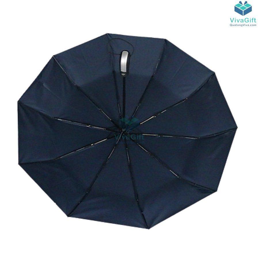 ô dù cầm tay gấp 3 tự động 2 chiều 10 kèo d026 in logo