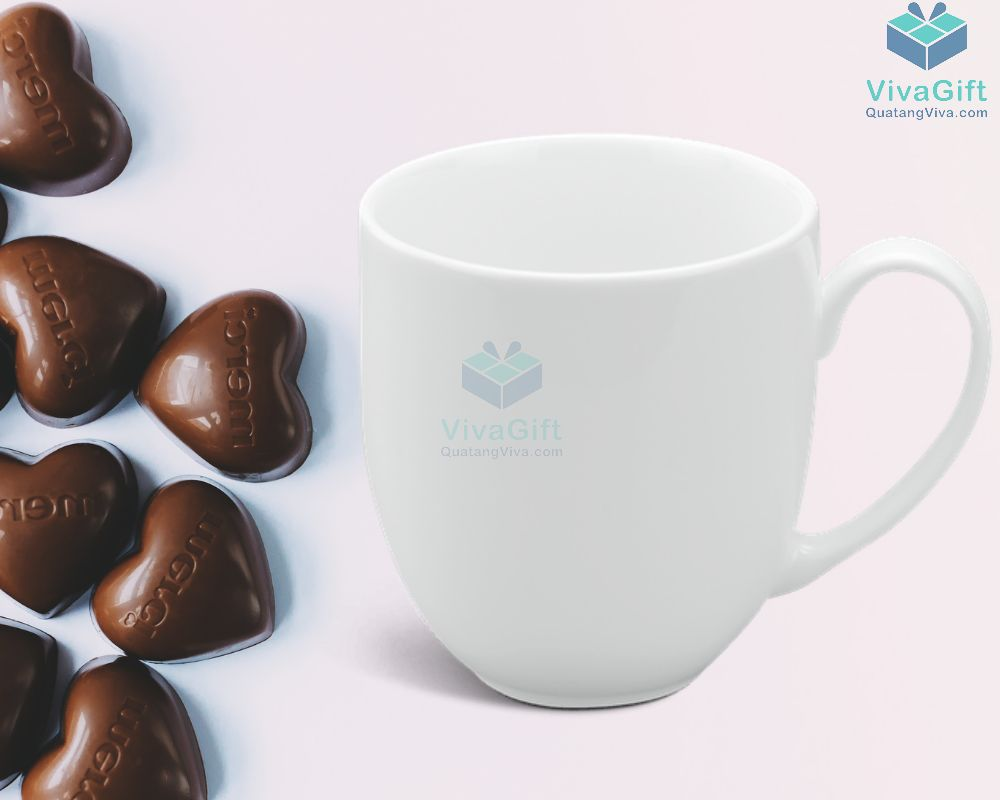 Ly sứ Minh Long 0.4 L - Camellia - Trắng 4