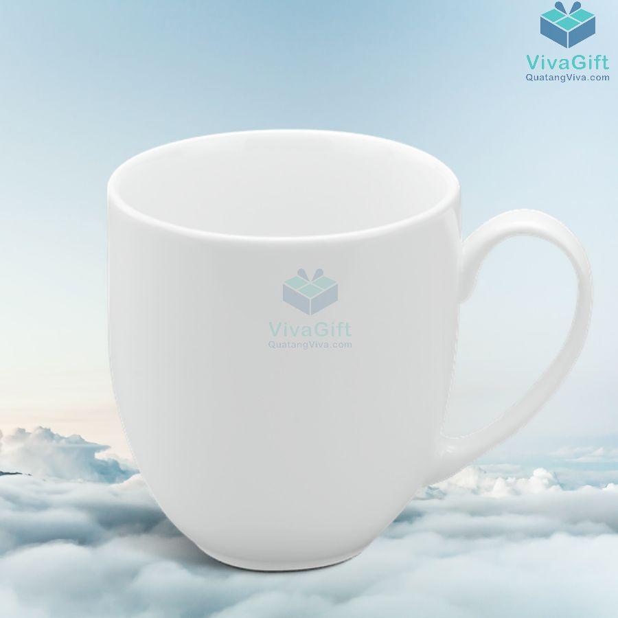 Ly sứ Minh Long 0.4 L - Camellia - Trắng 9