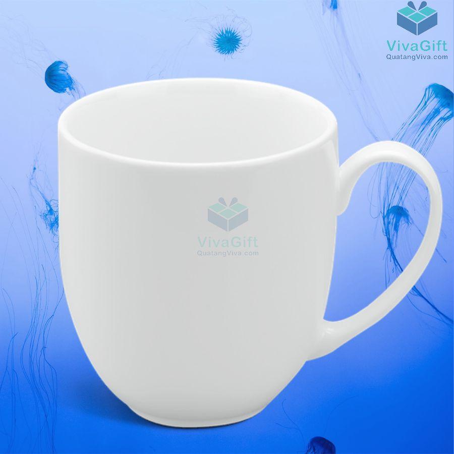 Ly sứ Minh Long 0.4 L - Camellia - Trắng 7