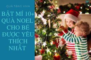 Quà Tặng Noel Cho Bé