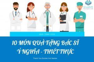 Quà tặng bác sĩ ý nghĩa
